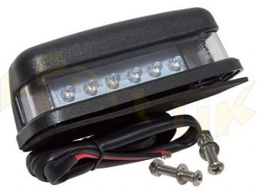 LAMP NUMBER PLATE LED
